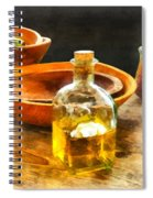 Decanter Of Oil Spiral Notebook