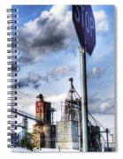 Decatur Alabama Industrial District Spiral Notebook