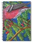 December Berries Spiral Notebook