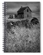 Decline Of The Small Farm No.2 Spiral Notebook