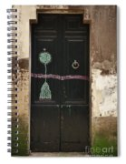 Decorated Door Spiral Notebook
