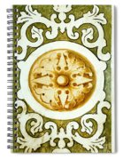 Decorative Art Spiral Notebook