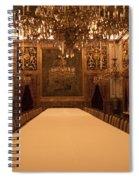 Decorative Dining Spiral Notebook