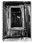 Decrepit Bw Spiral Notebook