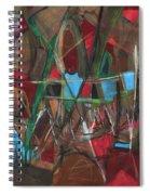 Deep City Three Spiral Notebook