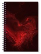 Deep Hearted Spiral Notebook