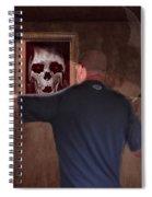 Deep Into The Mirror Spiral Notebook