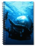 Deep Rover Spiral Notebook