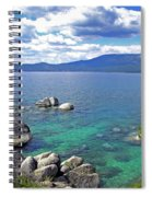 Deep Waters Lake Tahoe Spiral Notebook