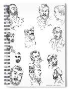 Deepfreeze-s.pole-art2 Spiral Notebook