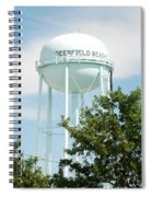 Deerfield Beach Tower Spiral Notebook