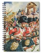 Defence Of Corunna Spiral Notebook