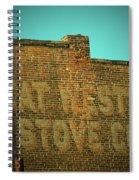 Defunct Spiral Notebook