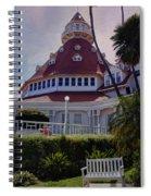 Del Coronado Hotel San Diego  Spiral Notebook
