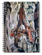 Delaunay: Eiffel Tower, 1910 Spiral Notebook