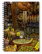 Deli In Palma De Mallorca Spain Spiral Notebook