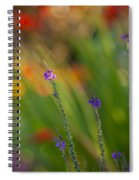 Delicate And Vivid Spiral Notebook