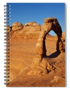 Delicate Arch At Sunset Spiral Notebook