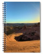 Delicate Arch Bowl Spiral Notebook