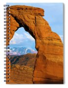 Delicate Arch Closeup Spiral Notebook