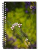 Delicate Flowers Spiral Notebook