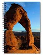 Delicate Landmark Spiral Notebook