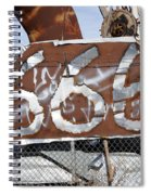 Demonic Humor At Industrial Site Haunted House Spiral Notebook