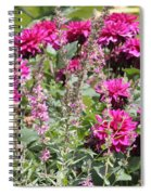 Demure Dahlias Spiral Notebook