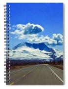 Denali Highway Spiral Notebook