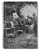 Denmark: Fishermen, 1901 Spiral Notebook