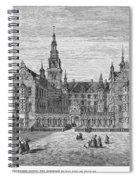 Denmark: Frederiksborg Spiral Notebook