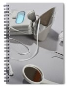 Dental Tollietres Spiral Notebook