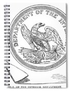 Department Of The Interior Spiral Notebook