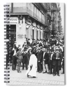 Depositors Run On Failed Bank, Nyc Spiral Notebook