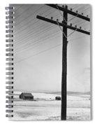 Depression Era Rural America Spiral Notebook