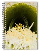 Depths Of The Cactus Flower Spiral Notebook
