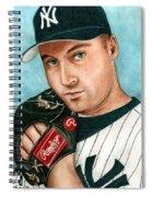 Derek Jeter  Spiral Notebook