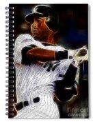 Derek Jeter New York Yankee Spiral Notebook