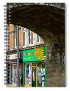 Derry Shops Spiral Notebook