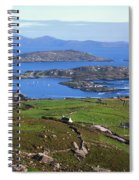 Derrynane Harbour, Caherdaniel, Ring Of Spiral Notebook