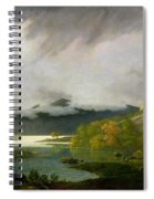 Derwent Water With Skiddaw In The Distance Spiral Notebook