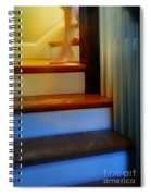 Descending The Stairs Spiral Notebook
