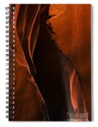 Desert Beam Spiral Notebook