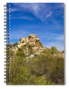 Desert Boulders Spiral Notebook