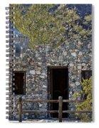 Desert Castle Spiral Notebook