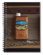 Desert Tryptich Spiral Notebook