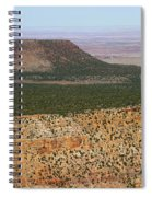 Desert Watch Tower View Spiral Notebook