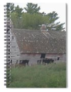 Deserted Barn Spiral Notebook