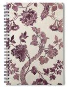 Design For A Silk Damask Spiral Notebook