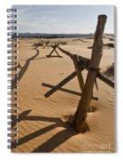 Desolate Spiral Notebook